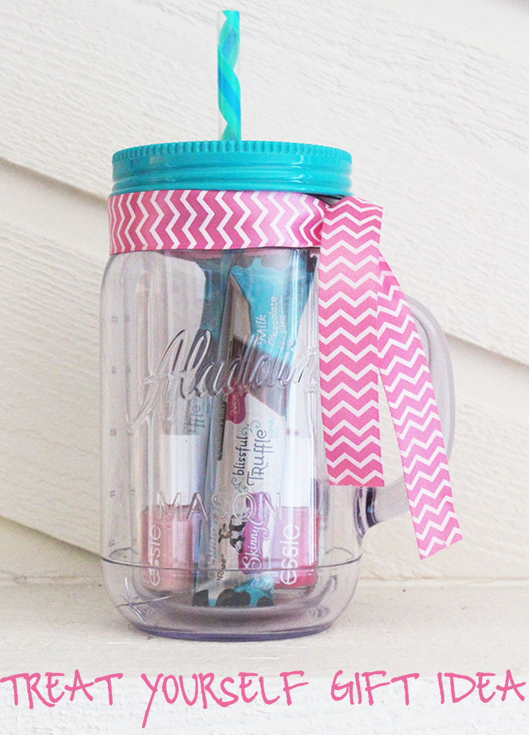 Diy mason jar tumbler treat yourself gift idea the for Christmas gift ideas for kitchen lovers