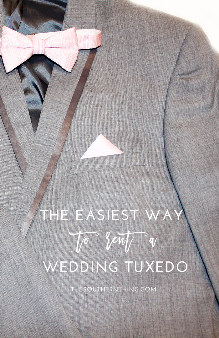 The Easiest Way to Rent a Wedding Tuxedo
