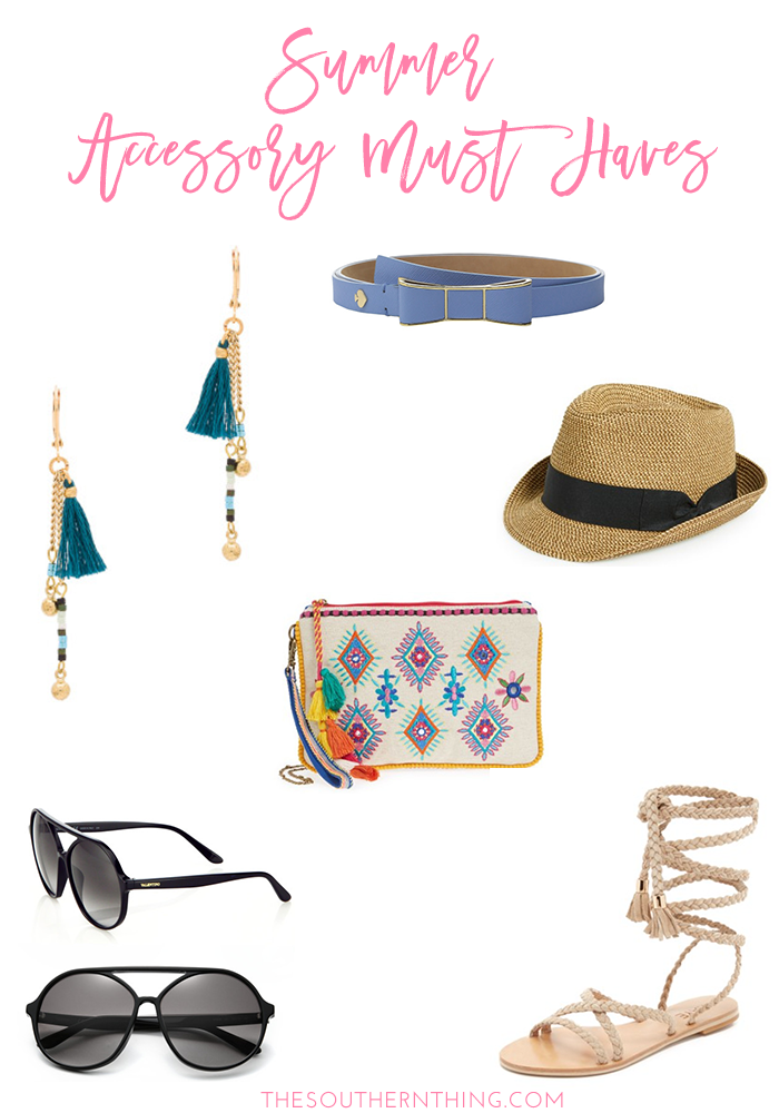 Summer Accessory Must Haves