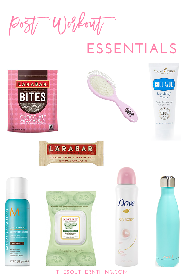 Post-Workout Essentials to Keep in Your Gym Bag