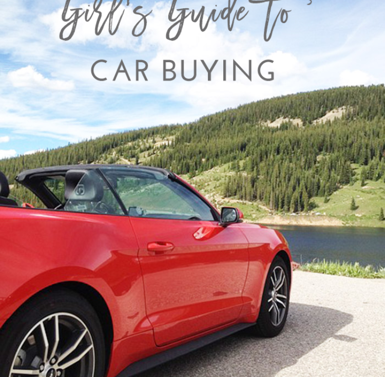 The Girl's Guide to Car Buying