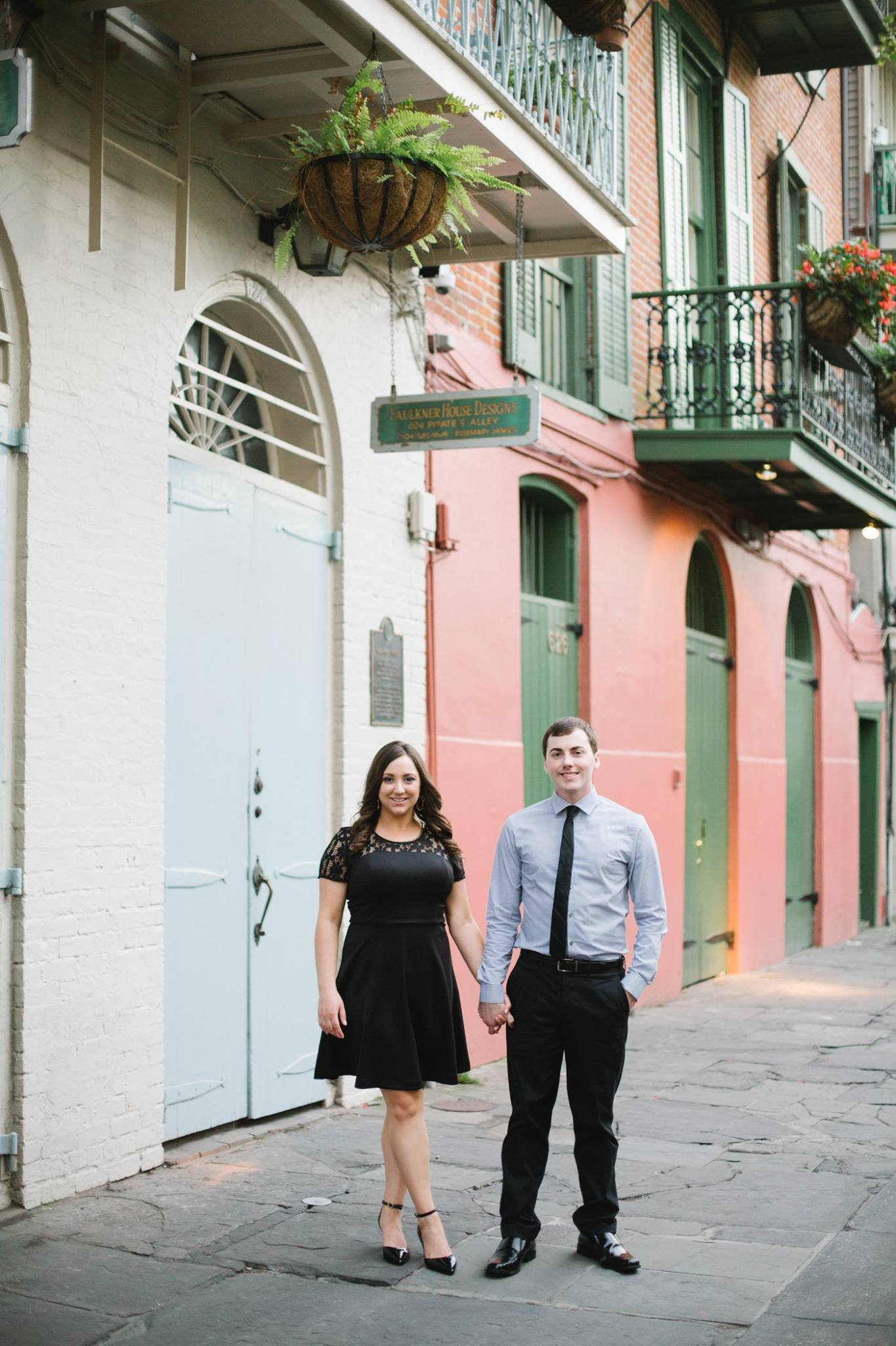 New Orleans French Quarter Engagement Photos