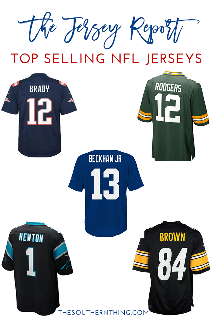 The Jersey Report: Top Selling NFL Jerseys