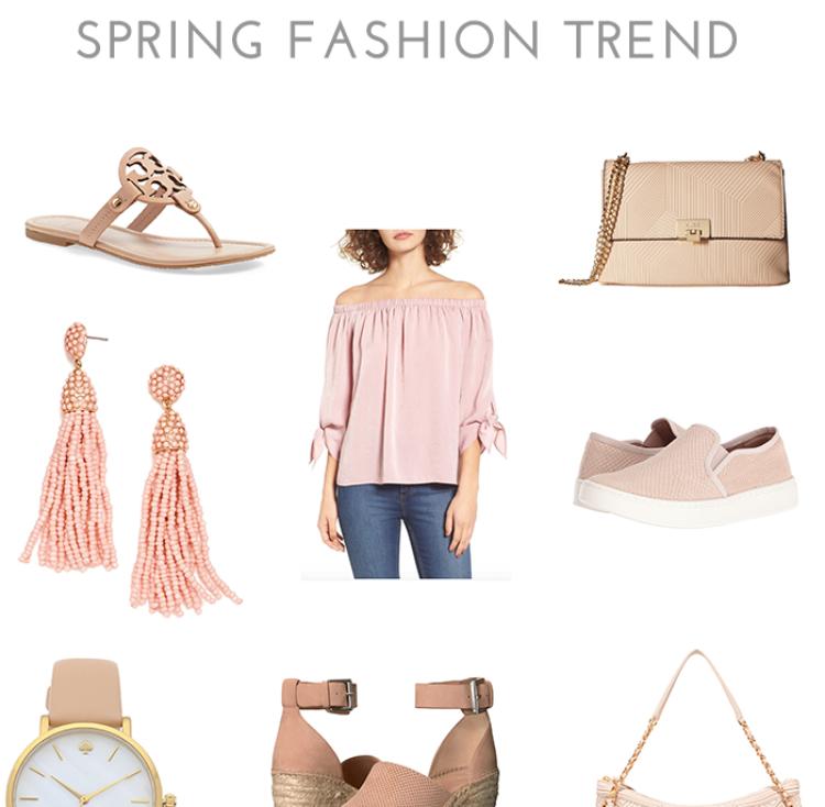 Blush Crush: Spring Fashion Trend