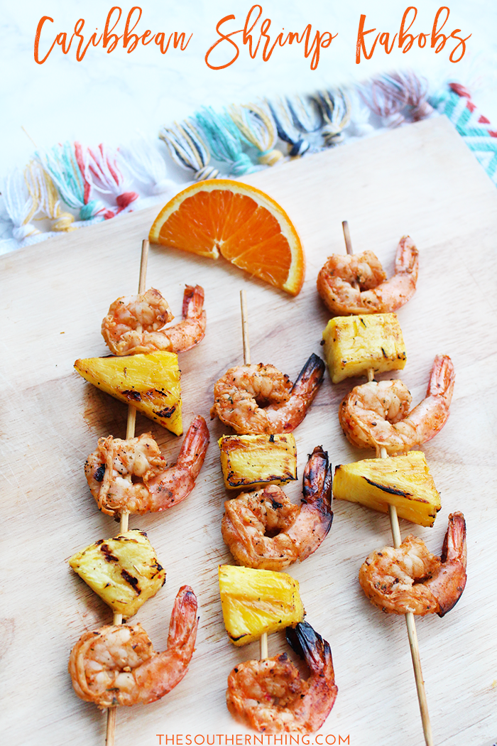 Caribbean Shrimp Kabobs Recipe