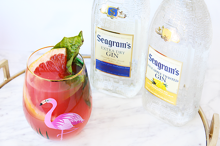Seagram's Gin Grapefruit Cocktail