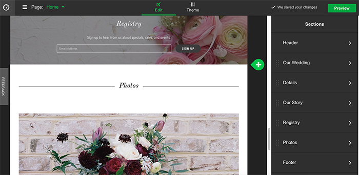 How to Build a Wedding Website + What to Include