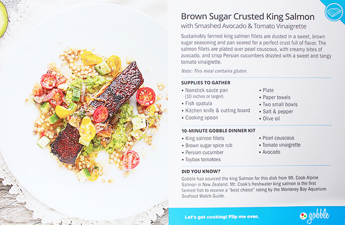Brown Sugar Crusted King Salmon Recipe