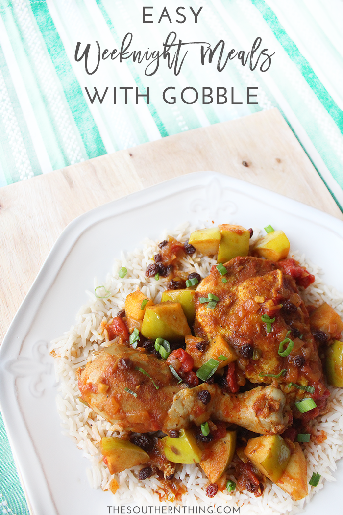 Easy Weeknight Meals with Gobble Dinner Kits