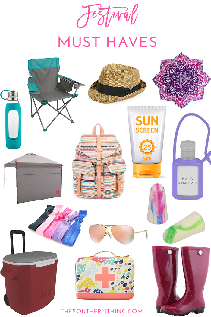 Festival Must Haves: What to Bring With You to a Festival