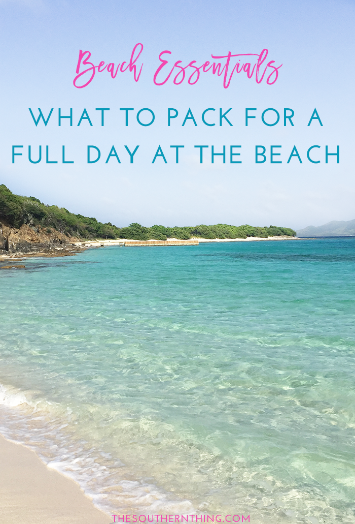 What to Pack for a Full Day at the Beach