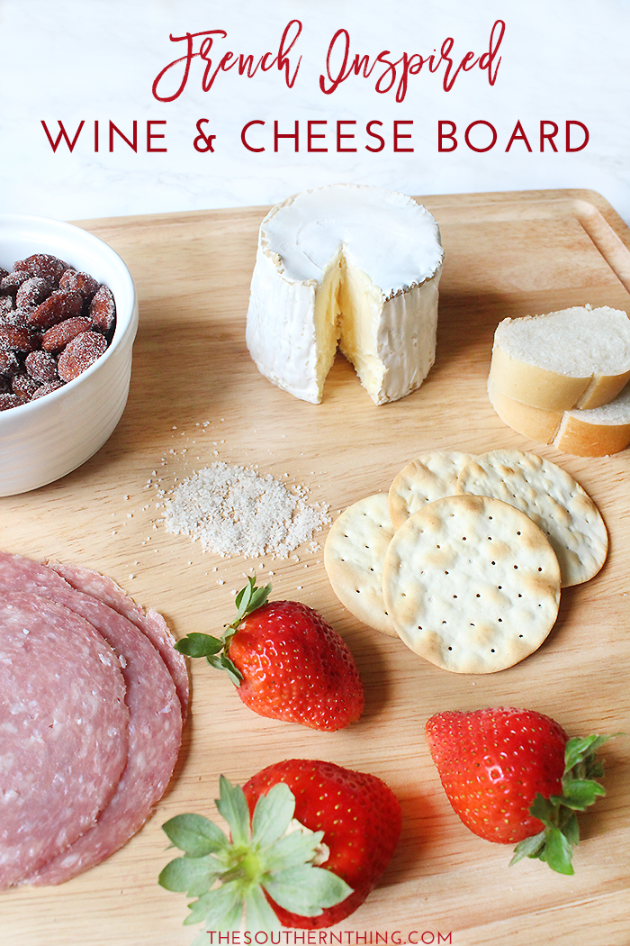 French Wine and Cheese Board | French Wine and Cheese Pairings