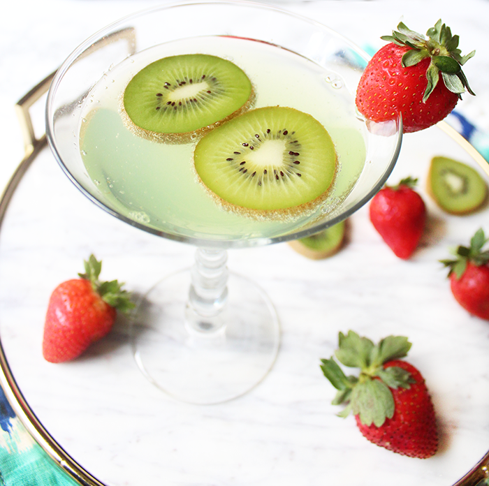 Kiwi Sparkler Recipe — Dishmaps