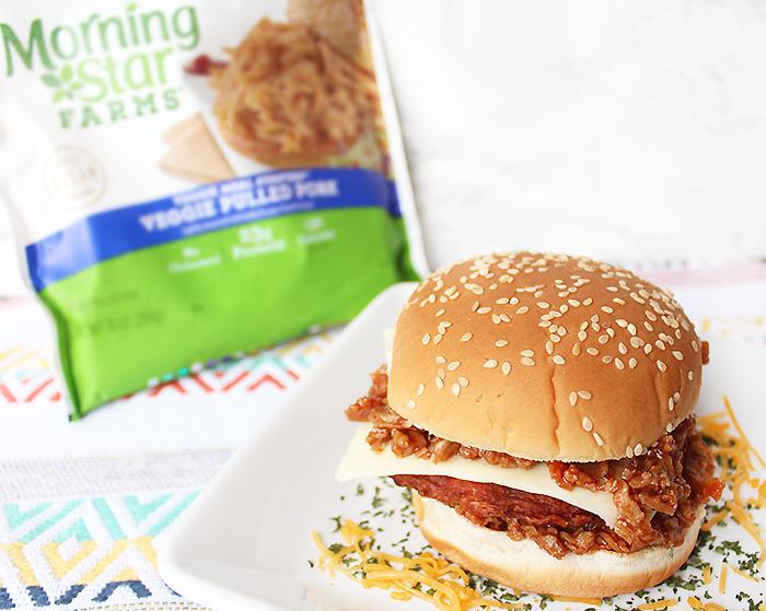 Spicy Chipotle Pulled Pork Black Bean Burger Recipe | Vegan & Vegetarian Friendly Recipe