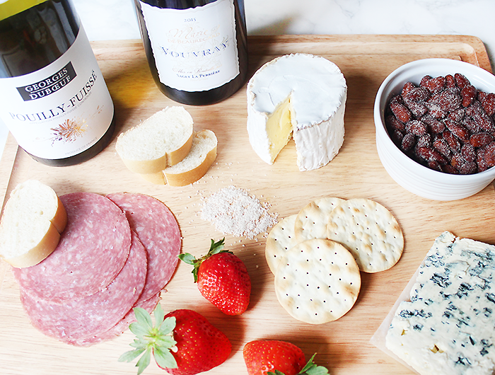 Saint Andre Cheese | French Inspired Wine and Cheese Board | French Wine and Cheese Pairings
