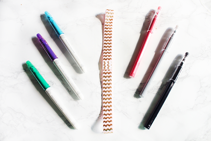 DIY Planner Band Pen Holder Tutorial | DIY Elastic Planner Band