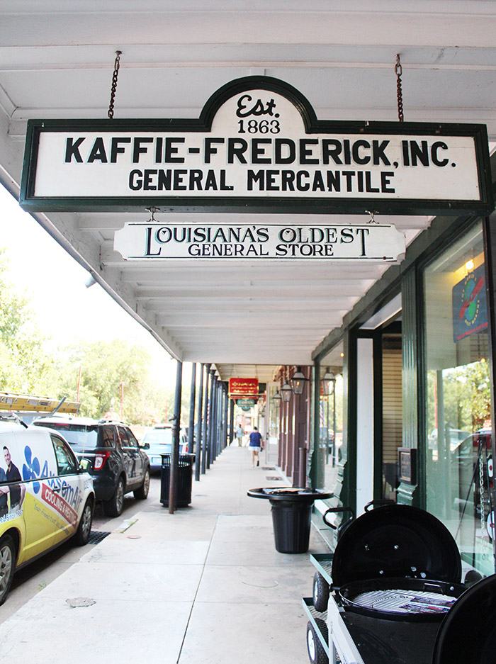 Kaffie Frederick General Mercantile Natchitoches, LA - The Ultimate Natchitoches Travel Guide: Where to Eat, Stay, & Play