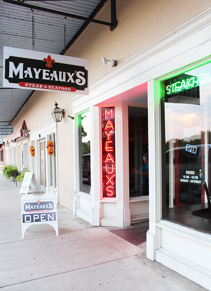 Mayeaux's Natchitoches - The Ultimate Natchitoches Travel Guide: Where to Eat, Stay, & Play