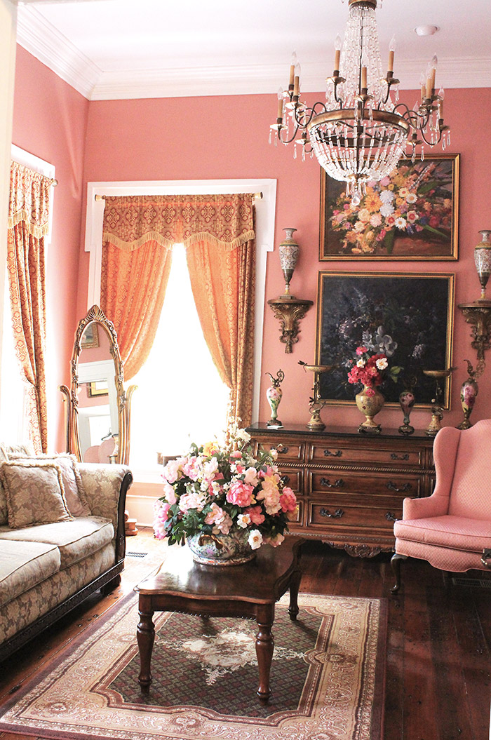 Samuel Guy House Bed & Breakfast Bride's Room, Natchitoches Louisiana